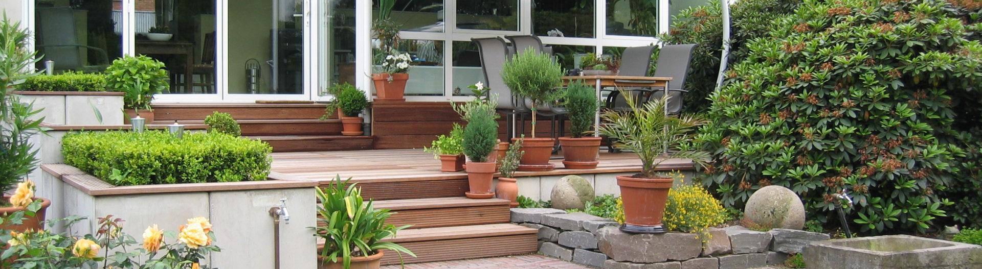 Terrassengestaltung und Terrassenbau