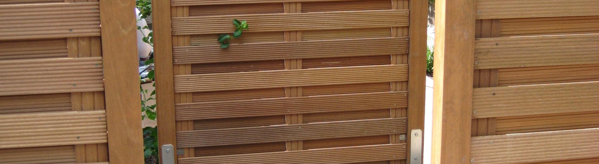 Zaunbau – Sichtschutzzäune